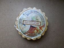 Yankee Candle USA Rare Original White Chocolate Mint Wax Tart