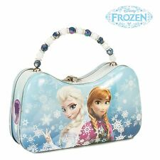 Frozen Anna and Elsa Tin Scoop Purse Lunchbox Official Tin Box Company Gift