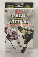 2009-10 TOPPS PUCK ATTAX NHL Hockey Starter Deck Card Game