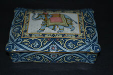 WEDGWOOD BLUE ELEPHANT PLAYING CARDS BOX/NO CARDS/