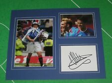 Michael Mols Signed Glasgow Rangers FC Mount