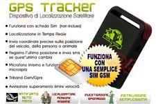 TRACKER GPS GSM GPRS LOCALIZZATORE ANTIFURTO SATELLITARE NUOVO