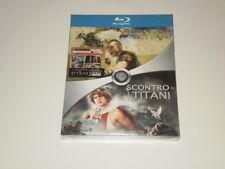 SCONTRO TRA TITANI/SCONTRO DI TITANI - 2 BLU-RAY DISC + BOOK - NUOVO! SIGILLATO!