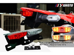 Honda CRF300L CRF300Rally 2021 Rear Fender Tail Built-in Turn Signal Lights