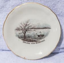Vintage Winterling Engen Gruss Vom Bodensee Miniatur Teller Untertasse Mv