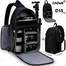 D15 Waterproof Sling Camera Bag Backpack For Canon Nikon 1Camera 3 Lenses Tripod