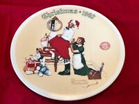 Vintage Norman Rockwell Christmas Surprise Collector Plate #13276B Knowles 1992