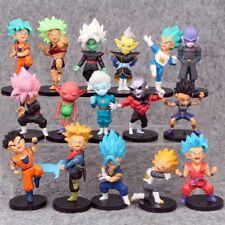 16PCS /Set DragonBall Dragon Ball Torankusu Son Goku PVC Figure Toy Gift