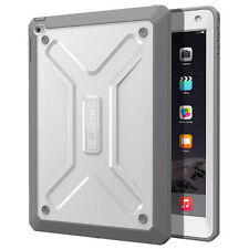 "For Apple iPad Air 2 Poetic ""Shockproof"" TPU Heavy Duty Cover【Revolution】White"