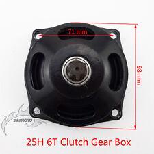 Mini Moto 25H 6 Tooth Clutch Drum Gear Box For Pocket Bike 47cc 49cc 2 Stroke