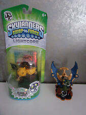 Skylanders Giants Drobot 2 (gebraucht) + Swap Force Lightcore Bumble Blast (Neu)