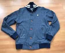 G STAR RAW NAVY BLUE CARDIGAN SIZE LARGE WORN ONCE