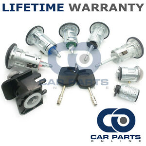 FOR FORD TRANSIT CONNECT 2002-13 LOCK SET OF 5 LOCK FRONT REAR IGNITION + 2 KEYS
