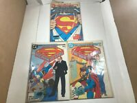 DC Comics SUPERMAN the Man of Steel 1986 Mini-Series #1, 4, 6