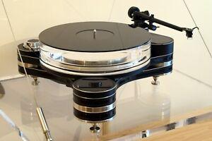 Gloss Black Acrylic Turntable Platter Mat. Fits Pro-ject, Rega Record Players