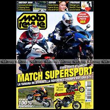 MOTO REVUE N°3793 YAMAHA R6 TRIUMPH 675 DAYTONA KTM 990 SUPERMOTO GILERA FUOCO