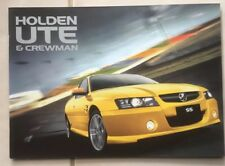 Holden Commodore VZ Brochure Ute Crewman V8 V6 HBD All Specs & Colours 24 Pages