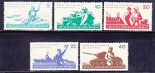 Germany DDR 598-602 MNH 1962 National's People Army 6th Anniversary Full Set