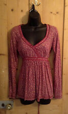Lovely cotton floral tunic by Fat face size 10