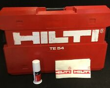 Hilti Te 54 Original Case - (Case Only), Preowned, Grease For Free, Fast Ship