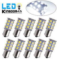 10x White 1156 BA15S P21W 27SMD High Power Car Backup Reverse LED  Light Bulbs