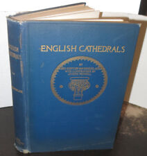 English Cathedrals Illustrated by Joseph Pennell 1914 Architecture Gilt Cloth