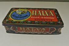 """Boîte publicitaire Tôle années 30 : Halva le Bosphore""""."""
