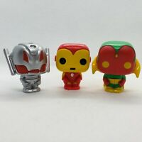 "Mini FUNKO POP! Marvel Disney Figures Figurines Iron Man Ultron Vision 1.5"" Tall"
