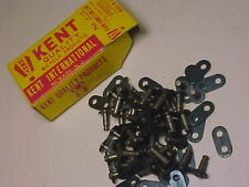 """25 Vintage Skip Tooth 1"""" Pitch Bicycle Chain Master Links nos"""