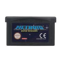Metroid Zero Mission GBA Game Boy Advance Cartridge EU English