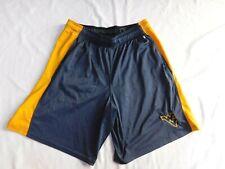 Champion Men's West Virginia University WVU Shorts - Size XL - Navy Yellow