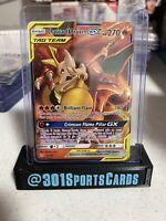 Charizard & Braixen Tag Team GX 22/236 Ultra Rare Pokemon Cosmic Eclipse