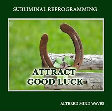 Attract Good Luck Subliminal Program - Subliminal CD - Become a Luck Magnet