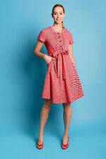 Fever London Juno Tea Dress in Red Size 8 BNWT RRP £79.99