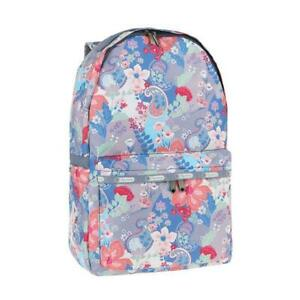 LeSportsac Classic Collection Large Basic Backpack in Garden Coral NWT