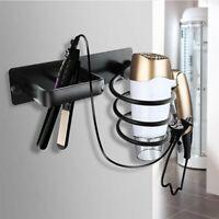 supporto porta phon asciugacapelli parete acciaio accessori bagno spirale a muro