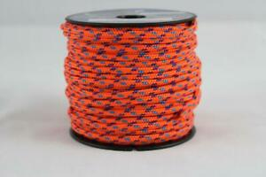 3mm Orange Kingfisher Evo Performance Polyester Rope Mini Spool - FREE Delivery