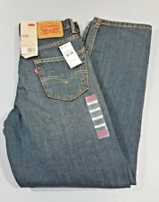 NWT Levi's 550 Dark Blue Relaxed FitTapered Leg 30W x 30L Mens Jeans