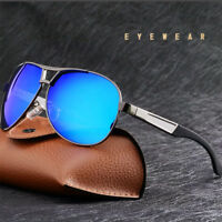 2019 Mens Fashion Driving Glasses HD Polarized Sunglasses UV400 Sports Eyewear