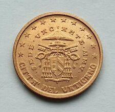 Vatican 2005 Sede Vacant : pièce de 2 cent issue du BU annuel