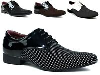 Mens Lace Up Wedding Party Work Office Formal Shoes UK Sizes 6-11