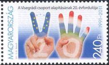 Hungary 2011 Visegrad Group/Hands/Fingers/Alliance/Commerce/Politics 1v (n45781)