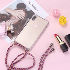 Strap Cord Chain Lanyard necklace case cover for iPhone 11 Pro X XS Max XR 8 7 6