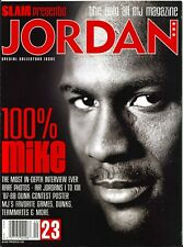 SLAM Magazine, JORDAN-100% MIKE, Special Collectors Issue, EXTRA MINT **RARE**