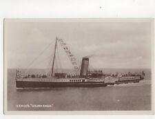 GSN Co Steamer Golden Eagle Vintage RP Postcard 162b