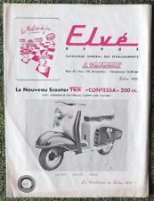 FRENCH DEALERSHIP SALES BROCHURE 1955 - MOTO GUZZI INTEREST