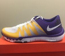 sports shoes bd36d 94c49 New LSU Nike Free Trainer 5.0 V6 AMP 723939-571