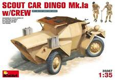 Miniart 1/35 SCOUT CAR DINGO Mk.1a w/CREW  #35087 *sEALED*