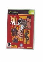 XIII - 13 -  XBOX FPS SHOOTER GAME / 360 COMPATIBLE - ORIGINAL & COMPLETE - VGC