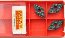 3 PLAQUITAS INTERCAMBIABLES SANDVIK dnmx110404-wf, dnmx 331-wf, 4215
